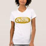 """El disco teja blanco menudo de las señoras del """"di camiseta"""