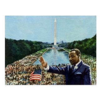 El discurso conmemorativo 2001 tarjetas postales