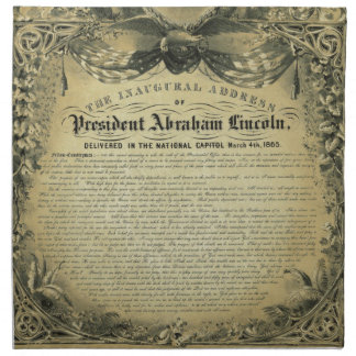 El discurso inaugural de presidente Abraham Lincol