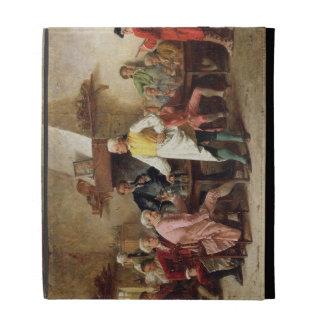 El discusión de un caballero, 1881 (aceite en el p