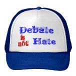 El discusión no es odio gorras de camionero
