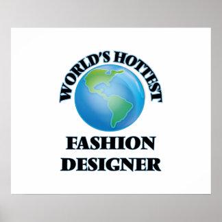 El diseñador de moda más caliente del mundo poster