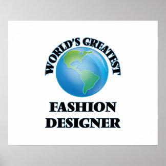 El diseñador de moda más grande del mundo impresiones