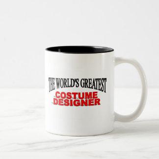 El diseñador de vestuario más grande del mundo tazas de café
