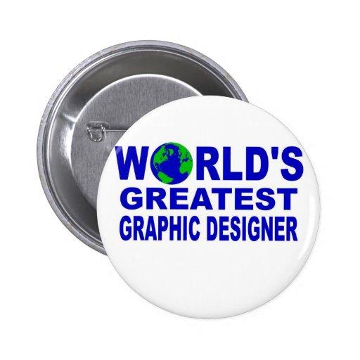 El diseñador gráfico más grande del mundo pin