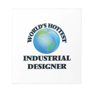 El diseñador industrial más caliente del mundo bloc de notas