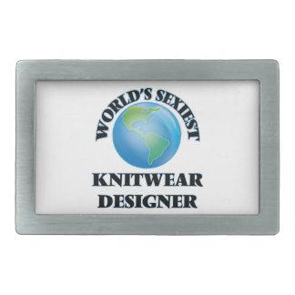El diseñador más atractivo de los géneros de punto hebillas de cinturon rectangulares