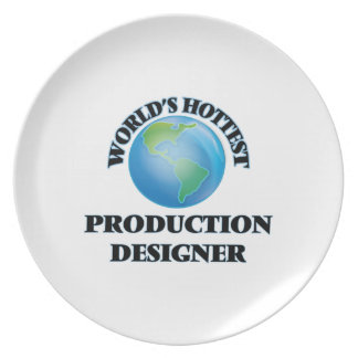 El diseñador más caliente de la producción del plato para fiesta