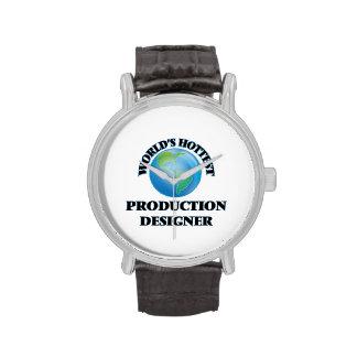 El diseñador más caliente de la producción del relojes de mano