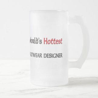 El diseñador más caliente de los géneros de punto taza