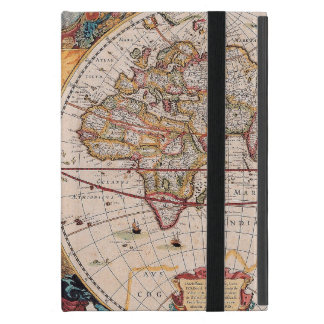 El diseño antiguo del mapa de Viejo Mundo del iPad Mini Cárcasas