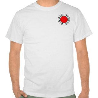 El diseño de California CA caloría de la corona de T Shirt