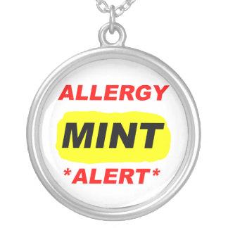 El diseño de la alergia de la menta de la alarma colgante redondo