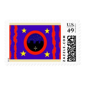 El diseño de la bandera de Olde con luz de las Sellos