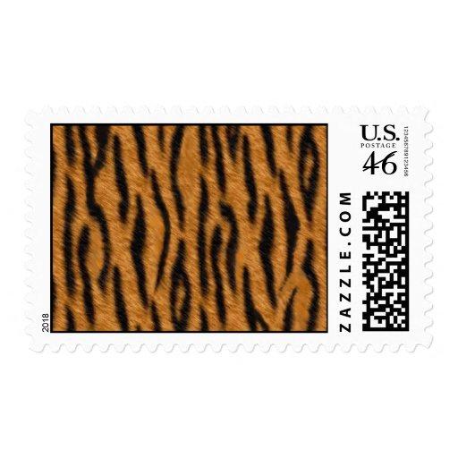 El diseño de la impresión de la piel del tigre, ti sellos