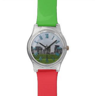 El diseño de los Historia-amantes antiguos de Ston Reloj De Mano
