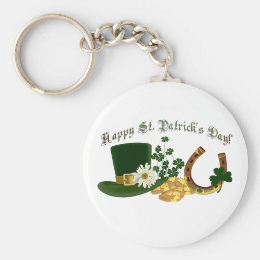 El diseño de St Patrick ADAPTABLE del irlandés Llavero Personalizado