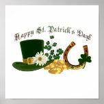El diseño de St Patrick ADAPTABLE del irlandés Poster