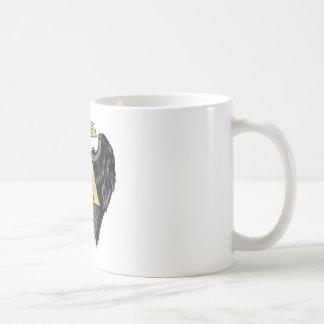 El diseño del ángel de Gabriel se va volando el lo Tazas De Café