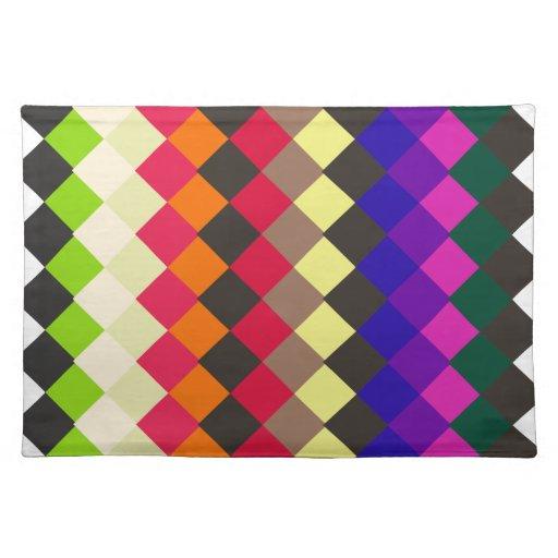 El diseño del arte modela las tejas clásicas moder mantel