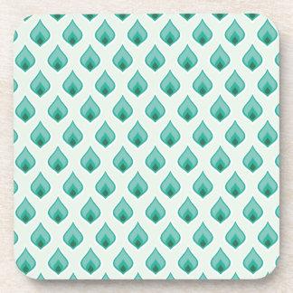 El diseño del arte modela las tejas clásicas moder posavaso