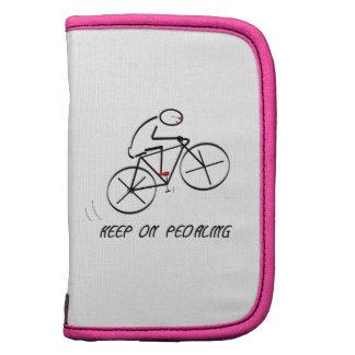 El diseño del Bicyclist de la diversión con Organizadores