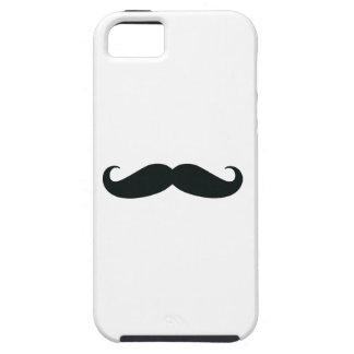 El diseño del bigote iPhone 5 funda