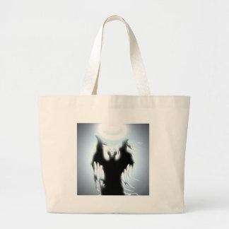 El diseño del hechicero bolsas lienzo