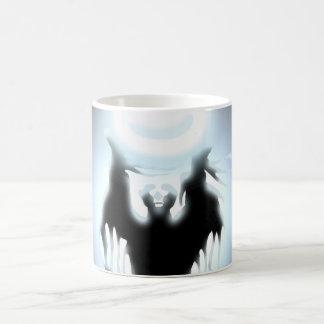 El diseño del hechicero taza de café