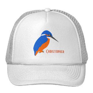 El diseño del martín pescador apenas añade nombre gorra