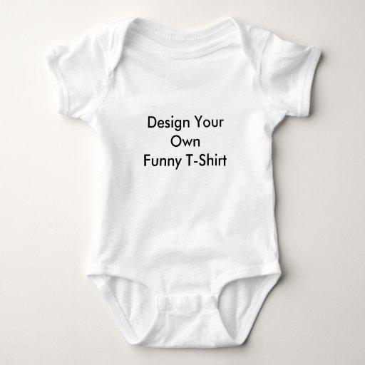 El diseño del niño su propia camiseta divertida remera