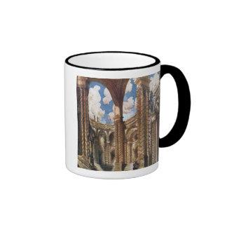 El diseño del paisaje para el desposorio, de dormi tazas de café