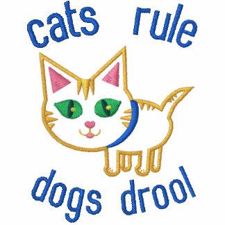 El diseño divertido del amante del gato