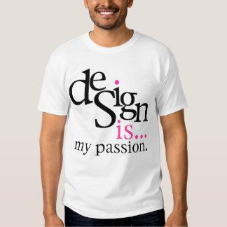 El diseño es… (rosa) playeras