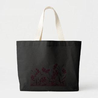 El diseño floral brillante decorativo del bolso bolsa