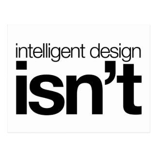 ¡El diseño inteligente… no es! Postales