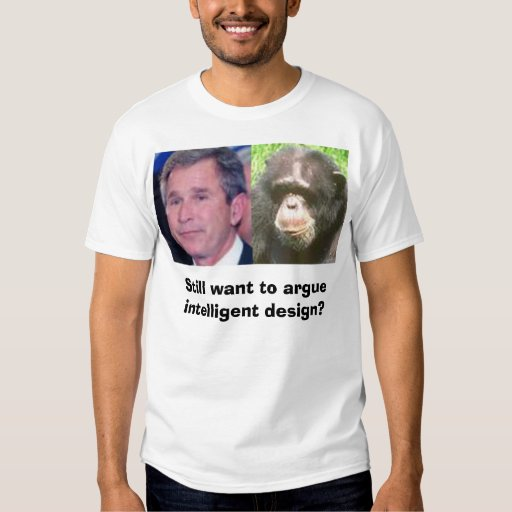 El diseño inteligente, todavía quiere discutir camisas