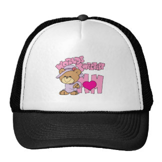 el diseño más dulce del oso de peluche de la mamá gorras de camionero
