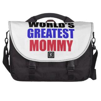 el diseño más grande de la mamá bolsa para ordenador