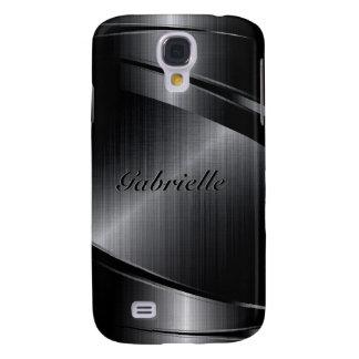 El diseño negro metálico cepilló la mirada de alum