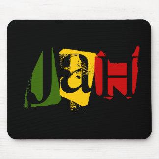 El diseño Rasta de Jah colorea Mousepad