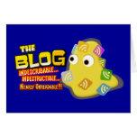 El diseño social de la gota del blog felicitacion