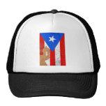 EL distessed Moro Puerto Rico .png Gorra