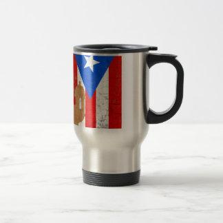 EL distessed Moro Puerto Rico .png Taza De Viaje