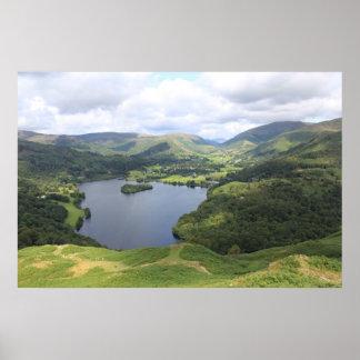 El distrito inglés del lago póster
