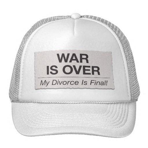 El divorcio es final gorra