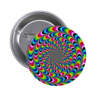 El Dizzying Pin Redondo De 2 Pulgadas