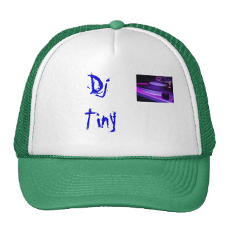 el djing DJ minúsculo Gorros