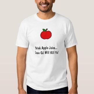 ¡El DO de la causa del zumo de manzana de la Playera