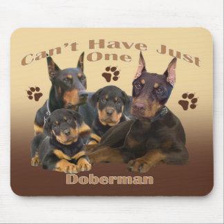 El Doberman no puede tener apenas un mousepad